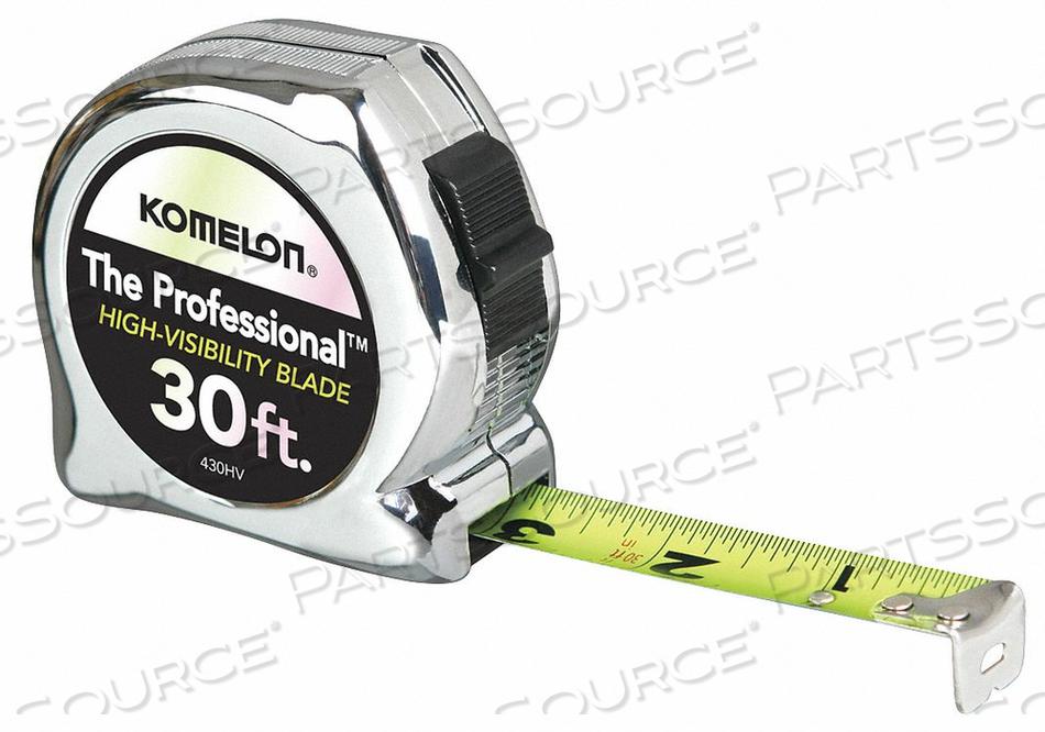 TAPE MEASURE 30 FT. 1 IN. STEEL by Komelon