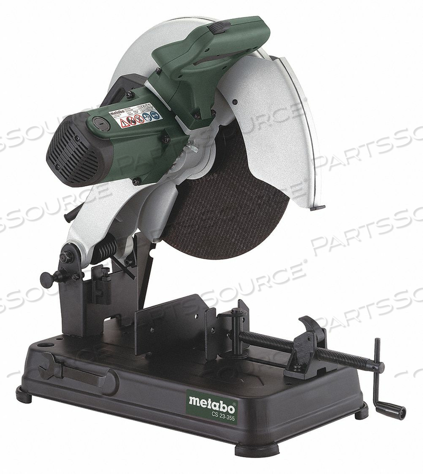 CHOP SAW 14 IN BLADE DIA. 4100 RPM by Metabo