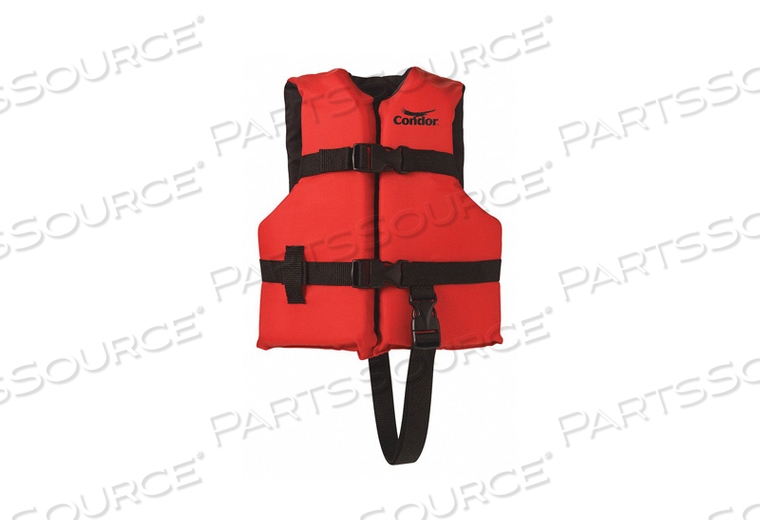 STD LIFE JACKET III CHILD 30 TO 50 LB. by Condor
