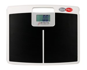 DIGITAL LOW-PROFILE SCALE, 600 LB X 0.1 LB / 272 KG X 0.1 KG, FOUR DIGIT, SEVEN SEGMENT LCD DISPLAY WITH 1.4IN HEIGHT DIGITS, 3.15 IN WD X 1.6 IN by Detecto Scale / Cardinal Scale