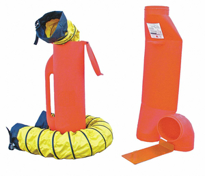 VENTILATION KIT 6 AND 15 FT. ORANGE by Air Systems International