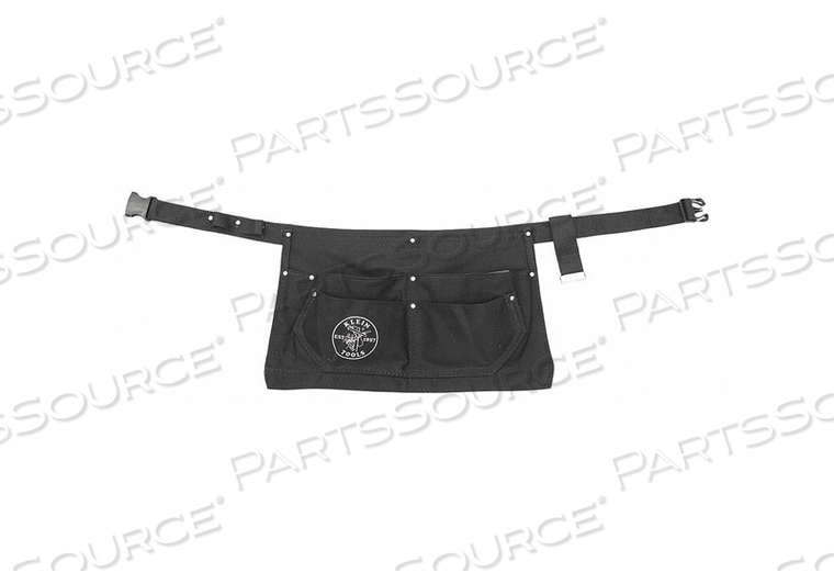 ELECTRICIAN APRON 32-46 WAIST CANVAS BLK by Klein Tools