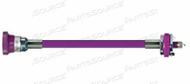 CONDUCTIVE HOSE ASSEMBLY, WAGD, 1/4 IN OD, PURPLE, FEMALE X MALE CONNECTION, 20 FT by Amvex (Ohio Medical, LLC)