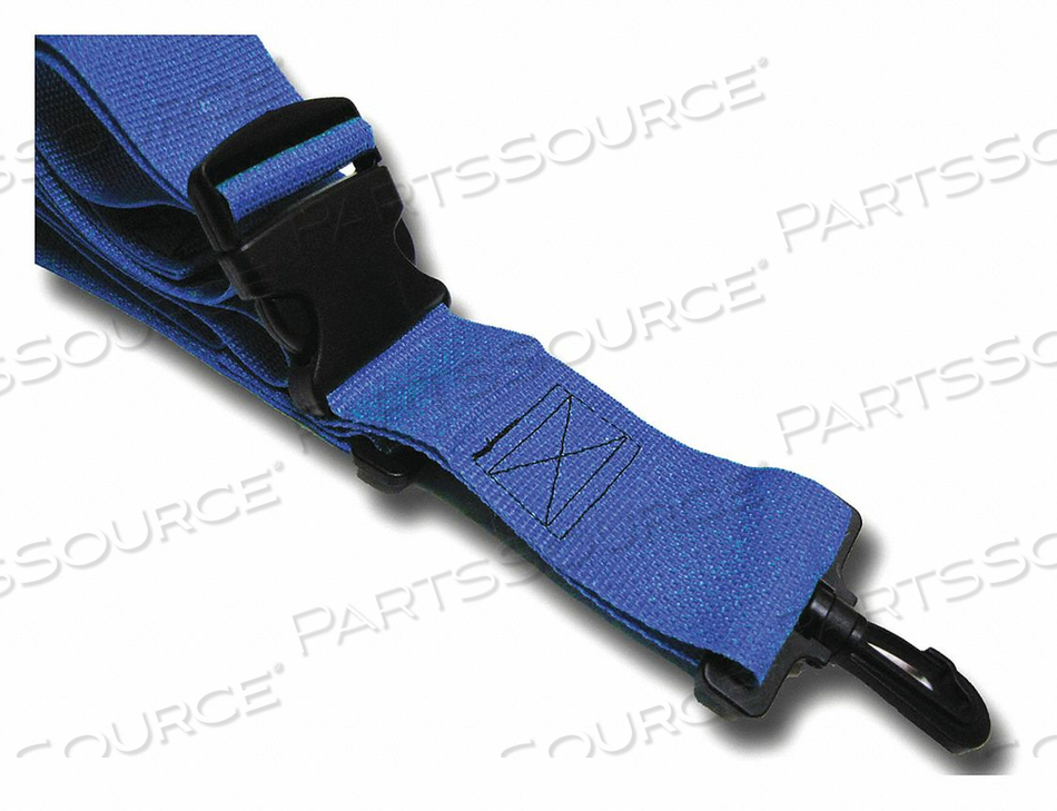 STRAP BLUE 5 FT L by Disaster Management Systems (DMS)