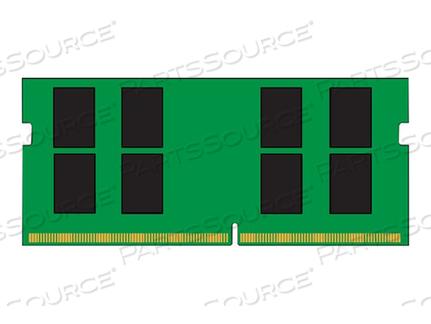 KINGSTON VALUERAM - DDR4 - 16 GB - SO-DIMM 260-PIN - 2666 MHZ / PC4-21300 - CL19 - 1.2 V - UNBUFFERED - NON-ECC by Kingston Technology