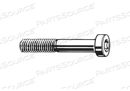 SHCS LOW M8-1.25X40MM STEEL PK600 by Fabory