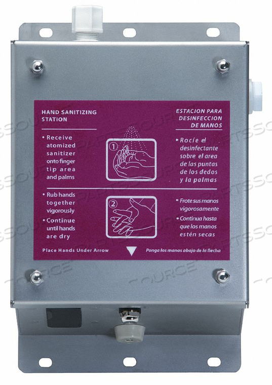 HAND SANITIZER DISPENSER 7570ML SS by Best Sanitizers Inc.
