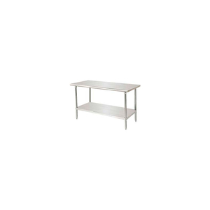 """WORKBENCH W/UNDERSHELF, 14 GA. 304 SERIES STAINLESS, 84""""WX36""""D by Advance Tabco"""