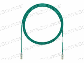 PANDUIT TX6 - PATCH CABLE - RJ-45 (M) TO RJ-45 (M) - 7 FT - UTP - CAT 6 - HALOGEN-FREE, BOOTED - GREEN by Panduit
