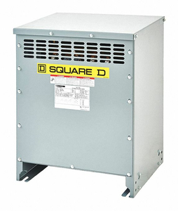 THREE PHASE TRANSFORMER 15KVA 208VAC by Square D