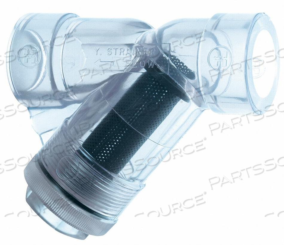 Y STRAINER PVC 1.25 THREADED FPM by Hayward