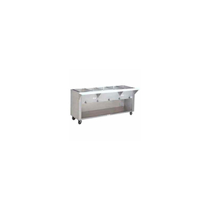 """HOT FOOD TABLE, ELECTRIC, 31.812""""L (2) 12"""" X 20"""" WELLS CABINET BASE 120V by Advance Tabco"""