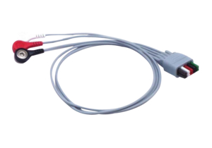 """3 LEAD 24"""" REUSABLE ECG LEADWIRE by Mindray North America"""
