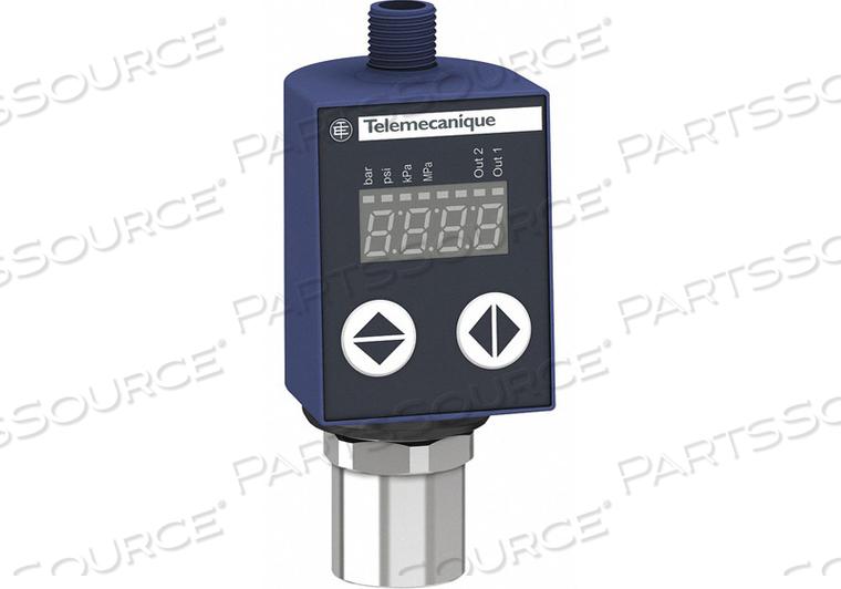 PRESSURE SENSOR 0 TO 145 PSI NPN by Telemecanique Sensors