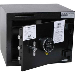 "DEPOSIT SLOT SAFE 19""W X 15""D X 15""H ELECTRONIC LOCK - 1.95 CU. FT. BLACK by Fire King"