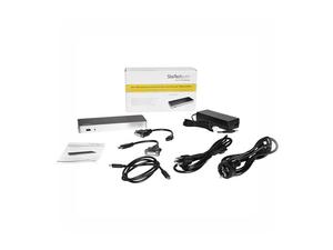 STARTECH.COM DUAL MONITOR USB-C DOCK - WINDOWS - MST - 60W PD - 5X USB 3.0 - DOCKING STATION - USB-C / THUNDERBOLT 3 - 2 X HDMI - GIGE - 100 WATT by StarTech.com Ltd.