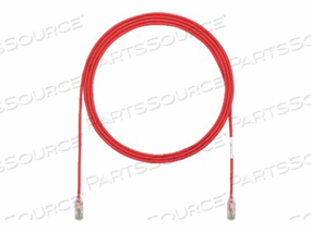 PANDUIT TX6 PLUS - PATCH CABLE - RJ-45 (M) TO RJ-45 (M) - 15 FT - UTP - CAT 6 - IEEE 802.3AT - STRANDED, SNAGLESS, HALOGEN-FREE, BOOTED - RED by Panduit