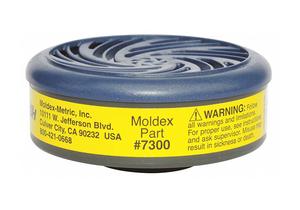 CARTRIDGE YELLOW BAYONET PK2 by Moldex