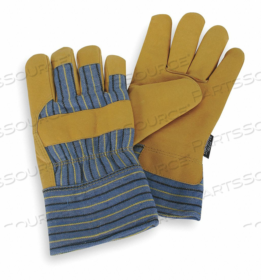 D1664 COLD PROTECTION GLOVES M GLD YLW/BLUE PR by Condor