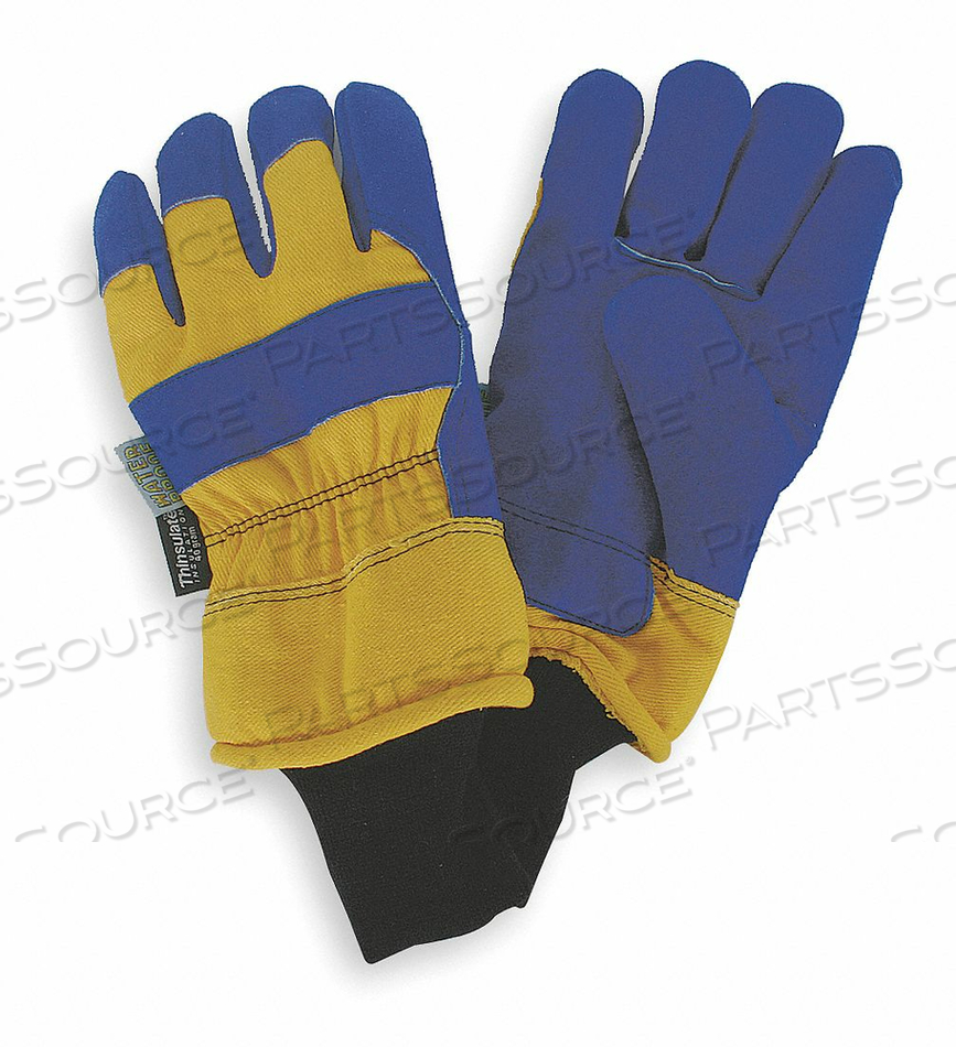 D1599 COLD PROTECTION GLOVES M BLUE/YELLOW PR by Condor