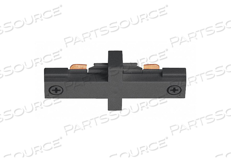 MINI STRAIGHT CONNECTOR BLACK by Juno Lighting Group