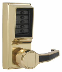 PUSH BUTTON LOCKSET RIGHT LEVER by Kaba
