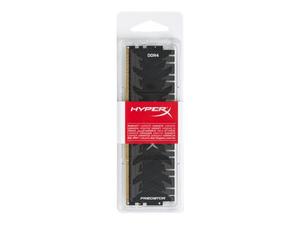 HYPERX PREDATOR - DDR4 - 16 GB - DIMM 288-PIN - 3200 MHZ / PC4-25600 - CL16 - 1.35 V - UNBUFFERED - NON-ECC - BLACK by Kingston Technology