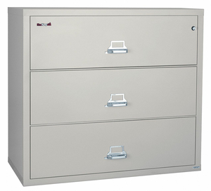 LATERAL FILE 3 DRAWER 37-1/2 IN W by Fire King