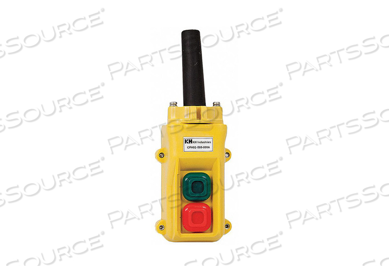 PENDANT STATION 2 PUSH BUTTON NO NC by KH Industries