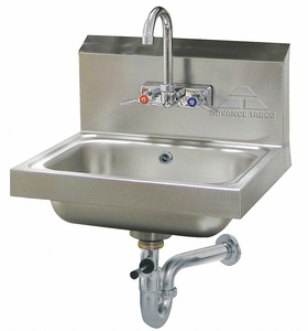 HAND SINK WALL 17-1/4 IN L 15-1/4 IN W by Advance Tabco