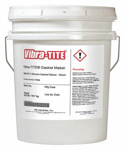 GASKET SEALANT 4.5GAL BLACK GRAVITY 1.30 by Vibra-Tite