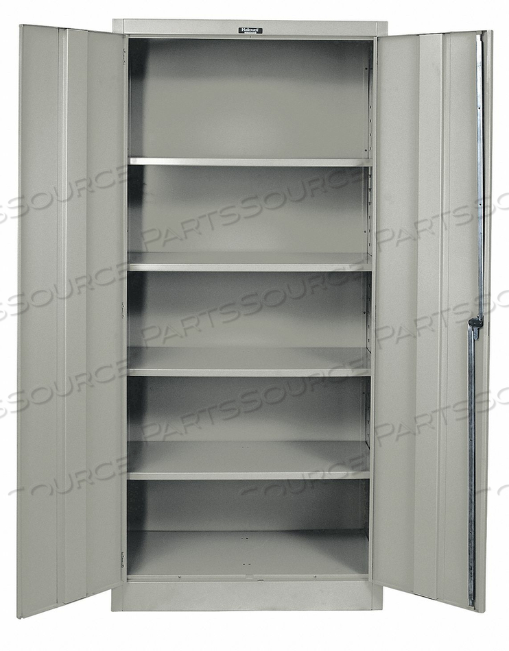 H2197 SHELVING CABINET 72 H 48 W GRAY by Hallowell