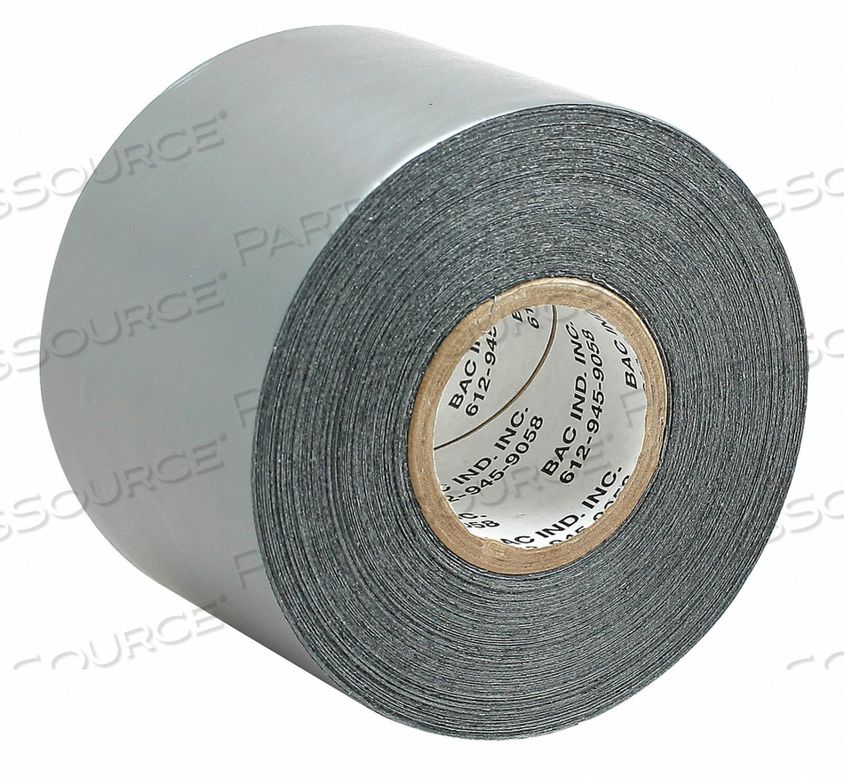 TARP TAPE 3 IN X 36 YD 7.5 MIL SILVER by Bac Industries