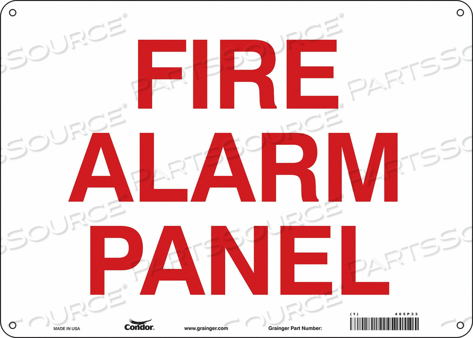 SAFETY SIGN 14 W X 10 H 0.032 THICKNESS by Condor