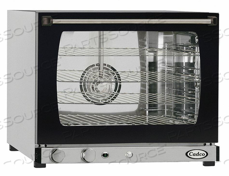 CONVECTION OVEN 4 SHELVES HALF SIZE by Cadco