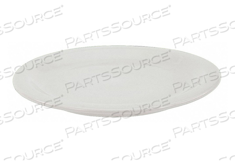 PLATE 10-3/8 IN. BRIGHT WHITE PK12 by Crestware