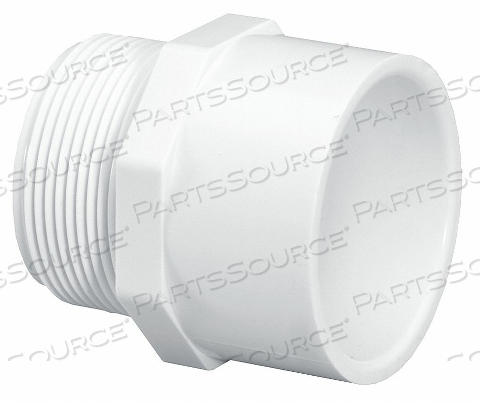 MALE ADAPTER 2 IN MPT X SLIP by Lasco