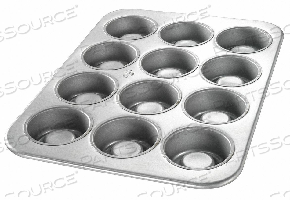 STRAWBERRY SHORTCAKE PAN 12 MOULDS by Chicago Metallic