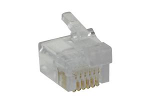 UNSHIELDED MODULAR CONNECTOR - CLEAR by Digi-Key