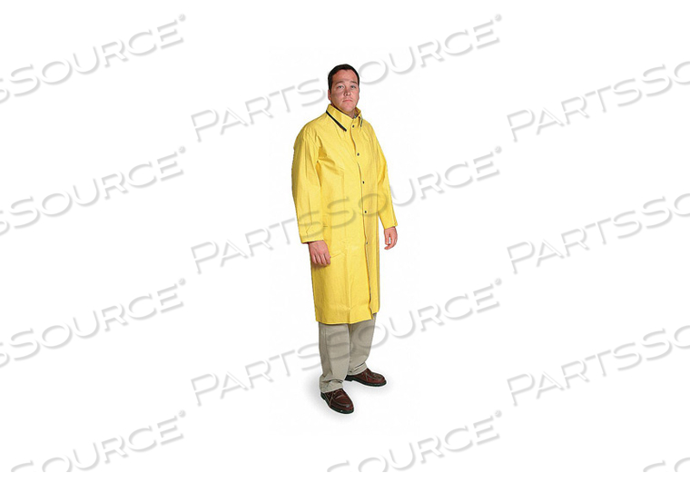D2315 RAIN COAT UNRATED YELLOW L by Condor