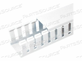 PANDUIT PANDUCT TYPE G - CABLE RACEWAY - 6 FT - WHITE (PACK OF 6)
