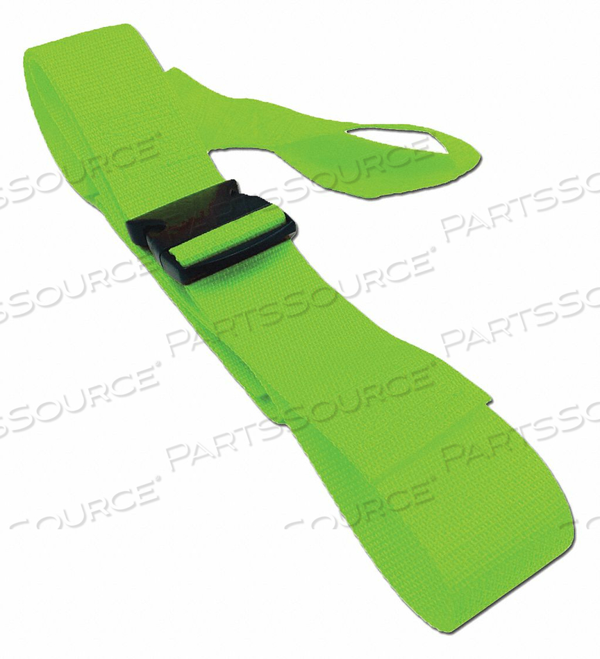 STRAP NEON GREEN 6 FT L by Disaster Management Systems (DMS)