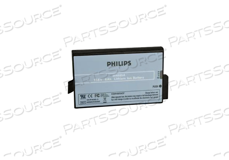BATTERY RECHARGEABLE, LITHIUM ION, 10.8V, 6 AH