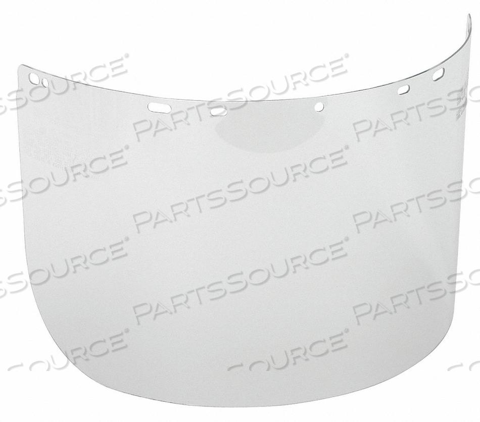 FACESHIELD VISOR POLYCARB CLR 8X15-1/2IN by Condor