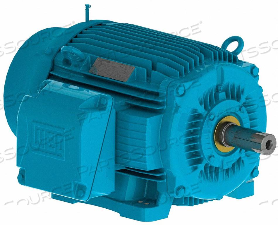 MTR 3PH 400 HP 1780 460V 447/9T EFF 96.2 by WEG