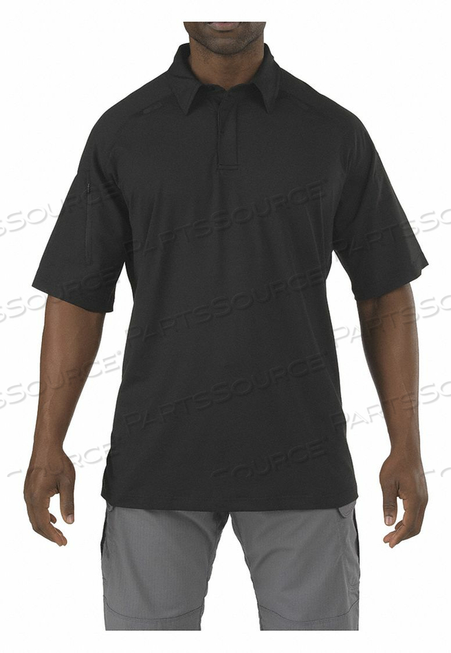 RAPID PERFORMANCE POLO BLACK XS by 5.11 Tactical