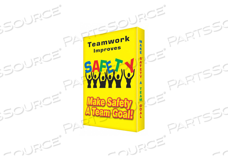 SAFETY SIGN 18 W 24 H 2.000 THICKNESS by Condor