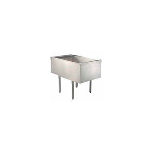 CHALLENGER PASS THRU ICE BIN, 24X36-1/2X29, W/COLD PLATE, 210-LBS. ICE CAPACITY by Advance Tabco