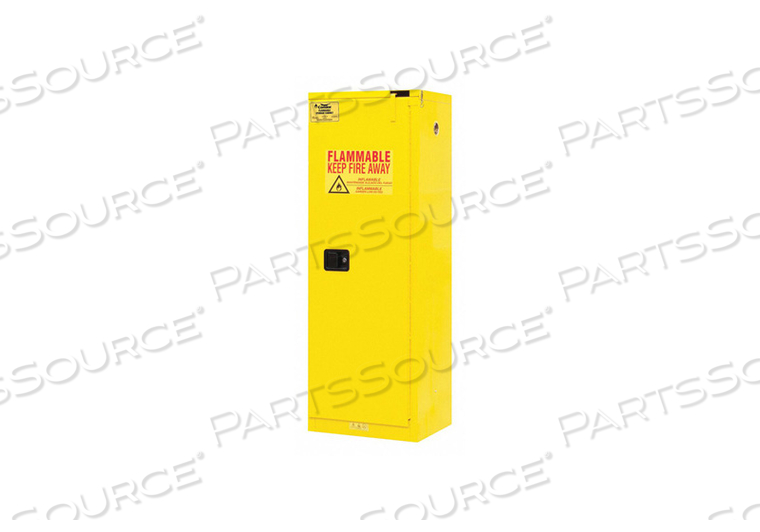 FLAMMABLE LIQUID SAFETY CABINET 22 GAL. by Condor