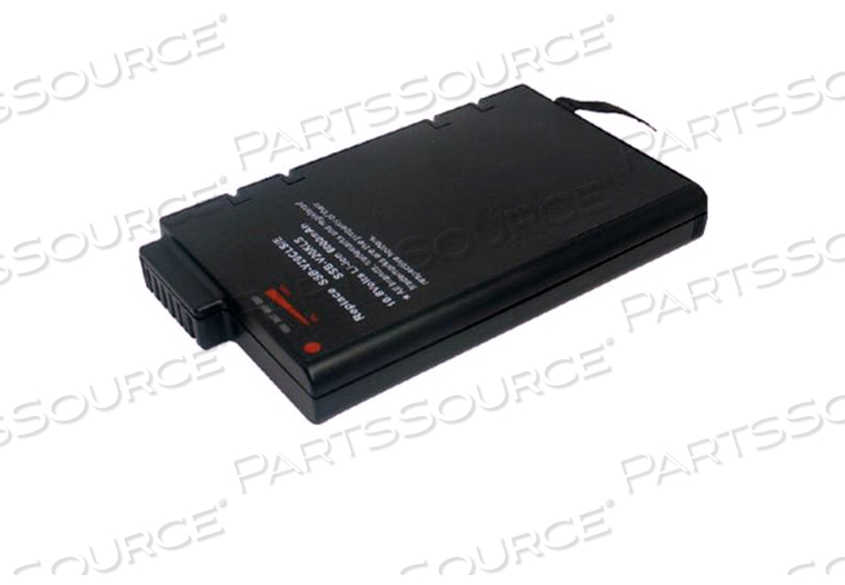 BATTERY RECHARGEABLE, LITHIUM ION, 11.1V, 7.2 AH